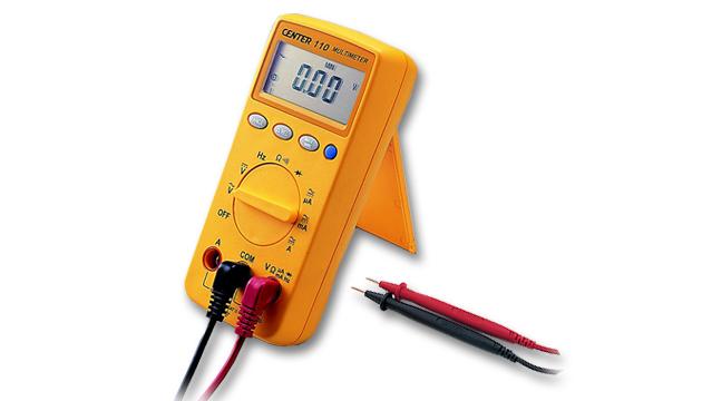CENTER 110_ Digital Multimeter 2