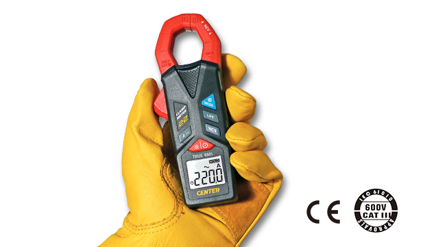 CENTER 22_ TRMS AC Clamp Meter (Pocket Size) 2