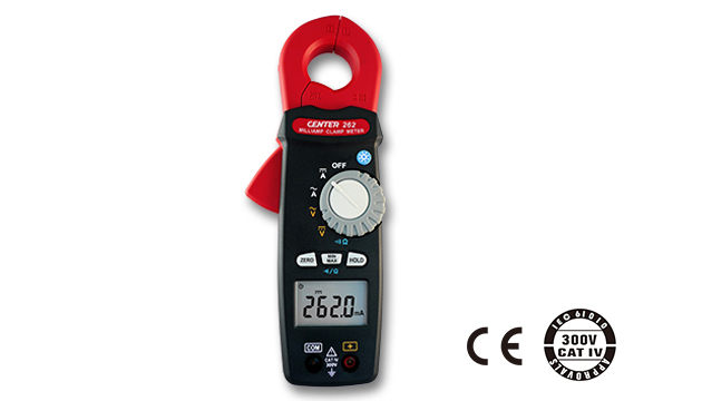 CENTER 262_ TRMS Milli-Amp AC/DC Clamp Meter (0.1mA) 1