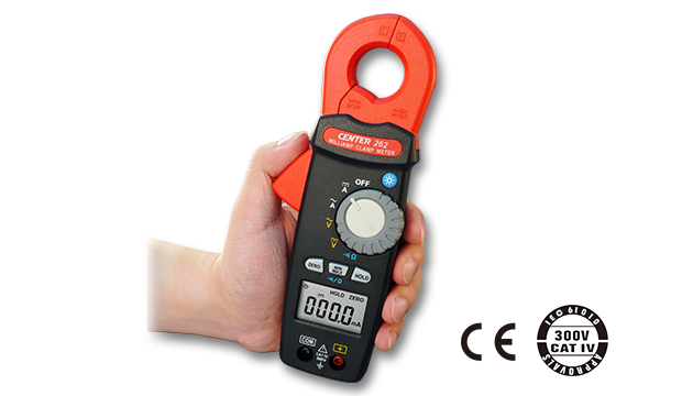 CENTER 262_ TRMS Milli-Amp AC/DC Clamp Meter (0.1mA) 2