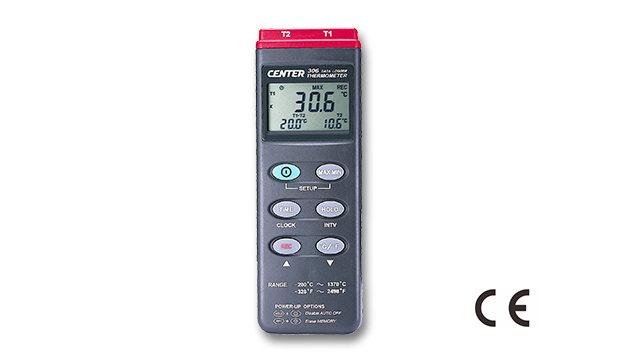 CENTER 306_ Datalogger Dual Input Thermometer 1