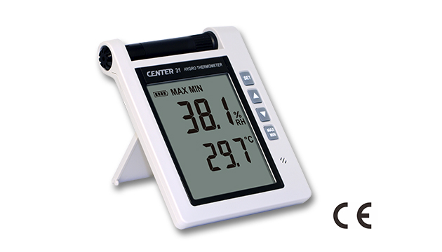 CENTER 31_ Hygro Thermometer (With Alarm) 1