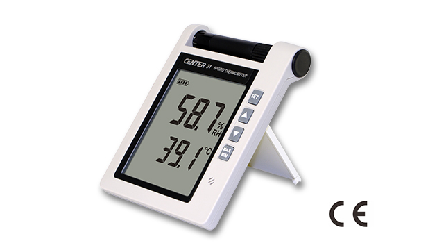 CENTER 31_ Hygro Thermometer (With Alarm) 2