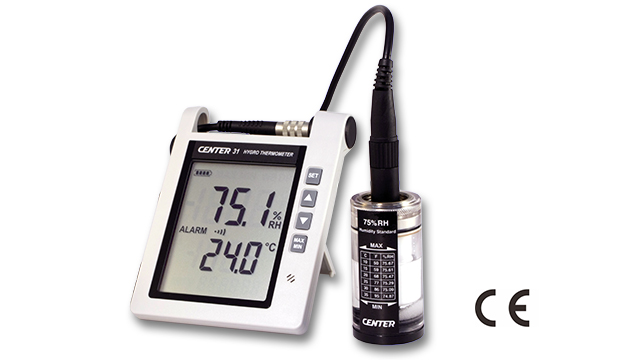 CENTER 31_ Hygro Thermometer (With Alarm) 3