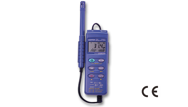 CENTER 314_ Datalogger Dual Input Humidity Temperature Meter 1