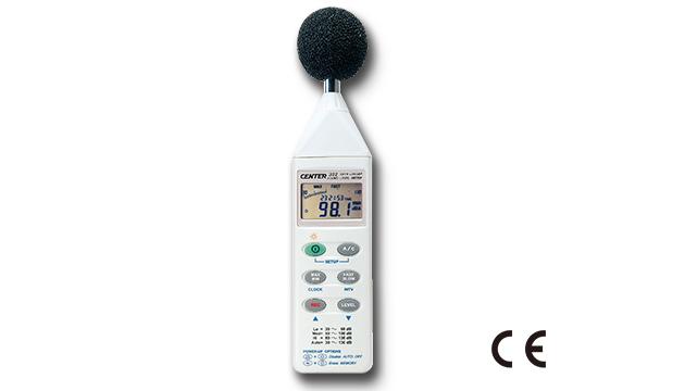 CENTER 322_ Datalogger Sound Level Meter 1