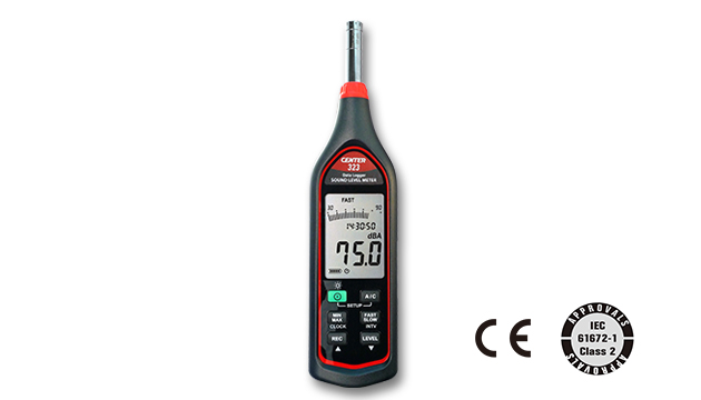 CENTER 323_ Datalogger Sound Level Meter (IEC 61672-1 class 2) 1