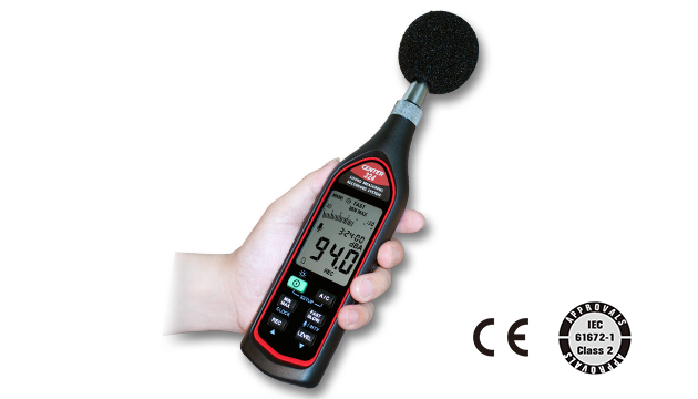 CENTER 324_ Sound Measuring Recording System (IEC 61672-1 class 2) 2