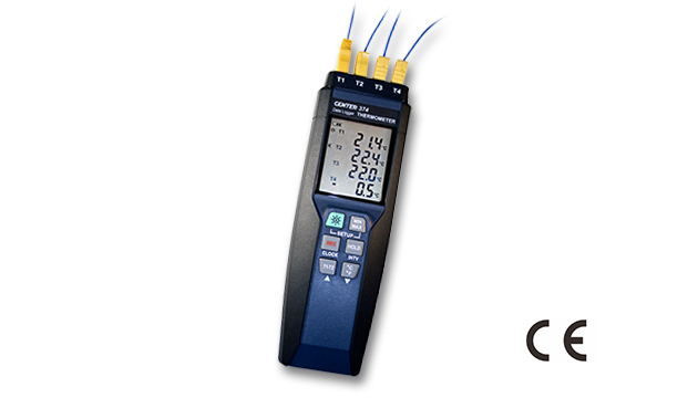 CENTER 374_ Four Channels Datalogger Thermometer 2