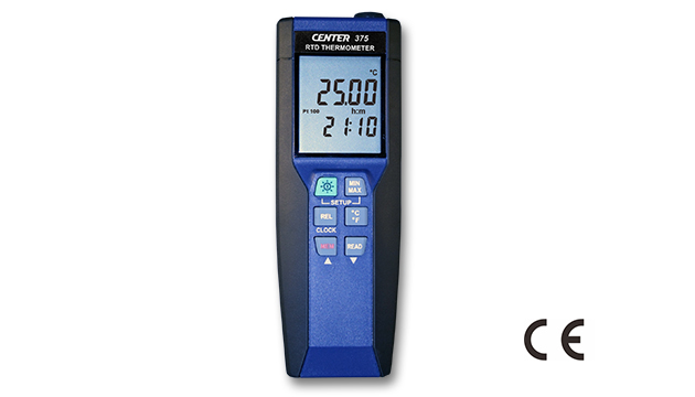 CENTER 375_ Precision RTD Thermometer (0.01°C) 1