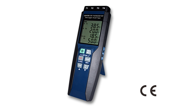 CENTER 378_ Four Channels Datalogger Thermometer (K/J/E/T Type) 1
