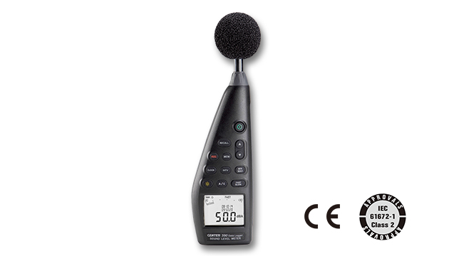 CENTER 390_ Datalogger Sound Level Meter (IEC 61672-1 class 2) 1