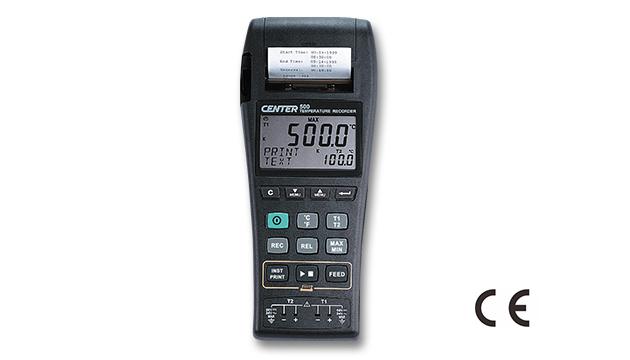 CENTER 500_ Datalogger Temperature Graphic Recorder (k/J Type) 1