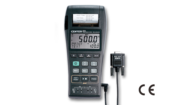 CENTER 500_ Datalogger Temperature Graphic Recorder (k/J Type) 2